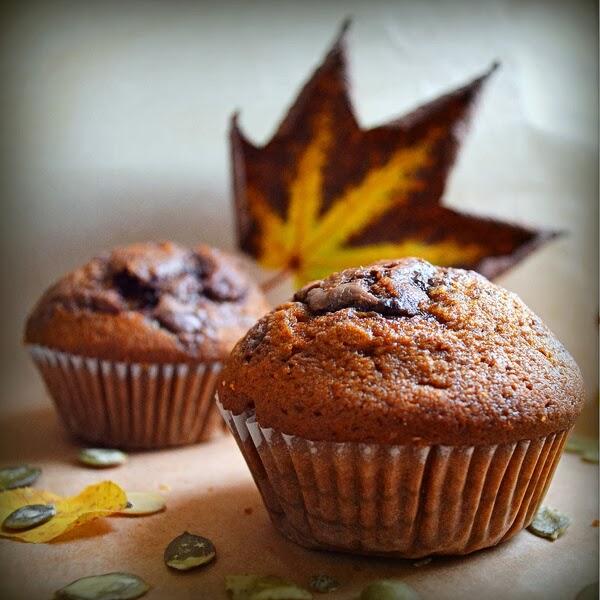 dyniowe muffiny, dyniowe ciasto, przepisy z dyni