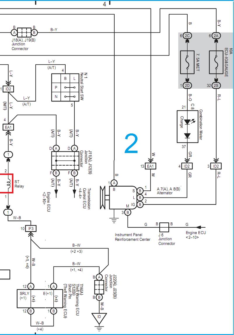 wiring diagram ecu 1kdftv