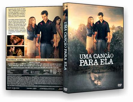 CAPA DVD – Uma Canção Para Ela – DVD-R