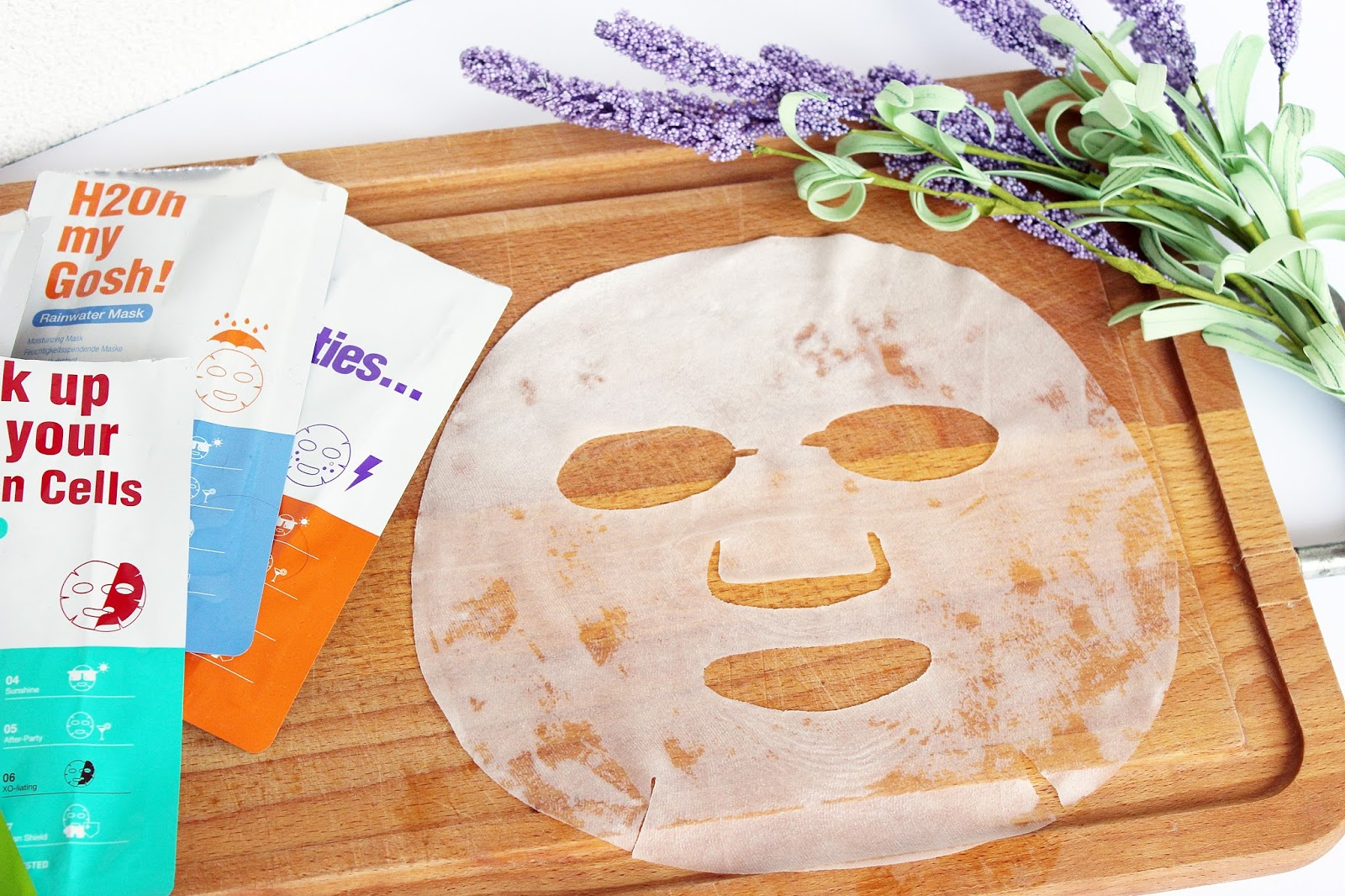 Leaders, Daily Wonders Sheet Masks - Zenitude, Rainwater, Skinglow, Sunshine, After Party, Xo-Liating, Urban Shield