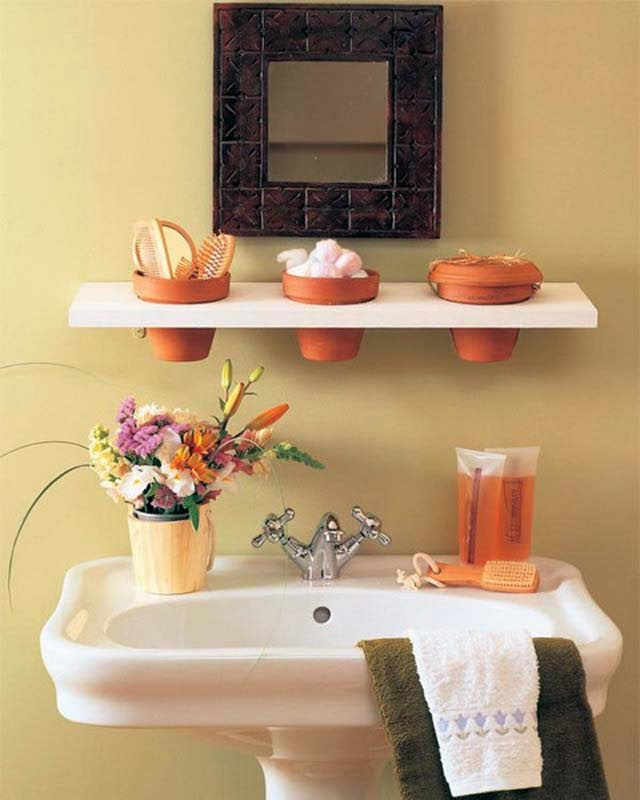 small bathroom organization ideas and tips