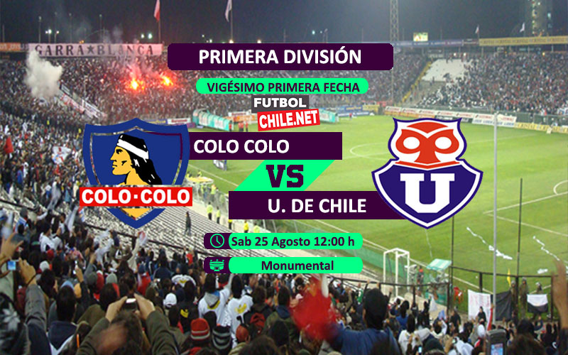 PREVIA: Colo-Colo vs Universidad de Chile