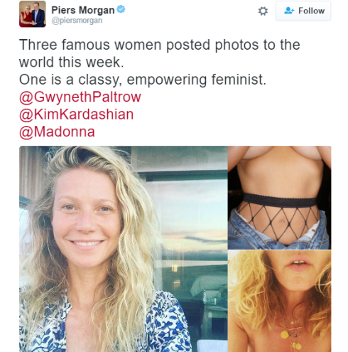 Piers Morgan comes for Kim K over her nude selfie, calls her a 'Slapper'