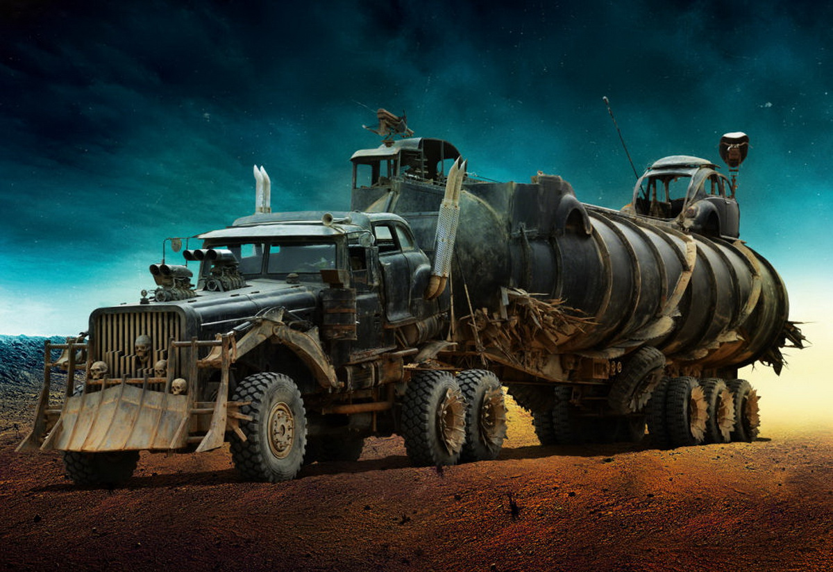 the vehicles of mad max fury road are totally insane w video carscoops. Black Bedroom Furniture Sets. Home Design Ideas
