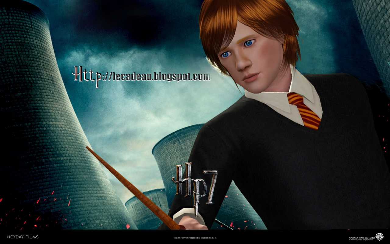 The sims male models and celebrities ron weasley harry - Hermione granger and ron weasley kids ...