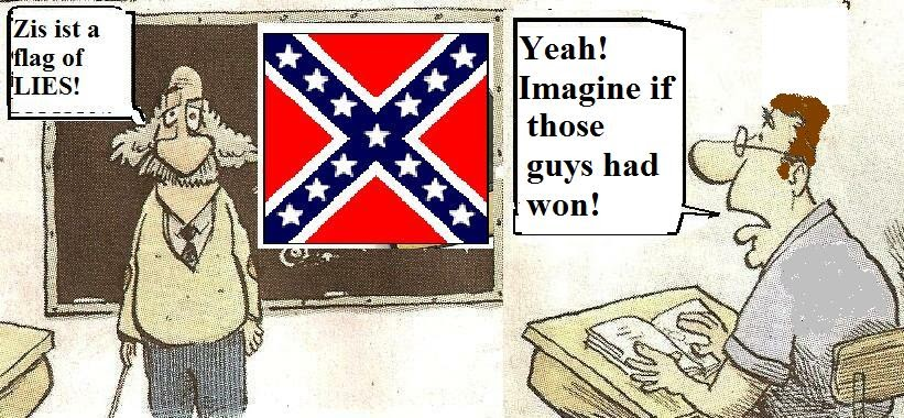 Brane Space The Ridiculous Argument By Confederate Flag