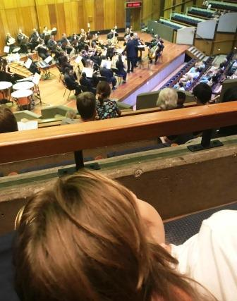 "Girl watching Johannesburg Festival Orchestra: ""Heroes & Villains"""
