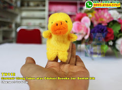 Souvenir Ulang Tahun Atau Edukasi Boneka Jari Bentuk Itik