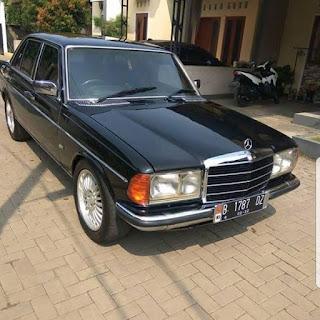 LAPAK Mercy tiger 280 thn 1982 W123