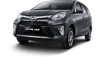 Toyota Calya Warna Gray Metallic