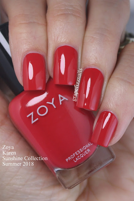 Zoya Sunshine Collection Karen