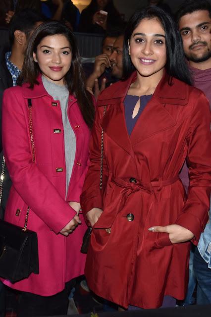 Mehreen Pirzada & Regina at C/o Surya USA premiere