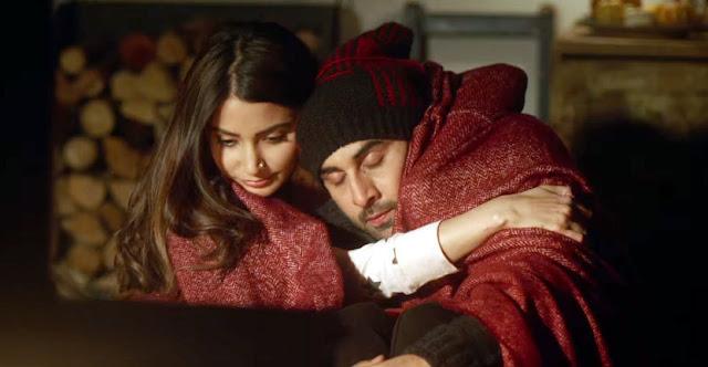Anushka Sharma and Ranbir Kapoor in Ae Dil Hai Mushkil