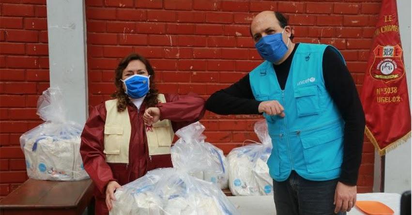 UNICEF inicia entrega más de 10 mil kits escolares en Carabayllo y San Martín de Porres