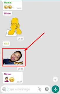 Cara Mudah Membuat Stiker Foto Sendiri di Whatsapp