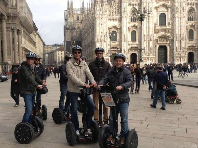 Tour de Segway em Milão