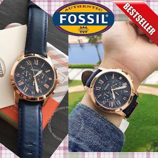 jam tangan kulit fossil FS4835