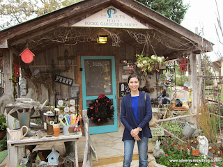 The shed converted shop at Little Farm Haus