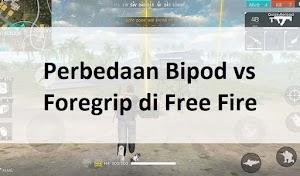 Bagus Mana? Inilah 5 Perbedaan Bipod vs Foregrip di Free Fire