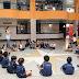 Professoras voltam à infância e brincam com os alunos no CCI de Samambaia