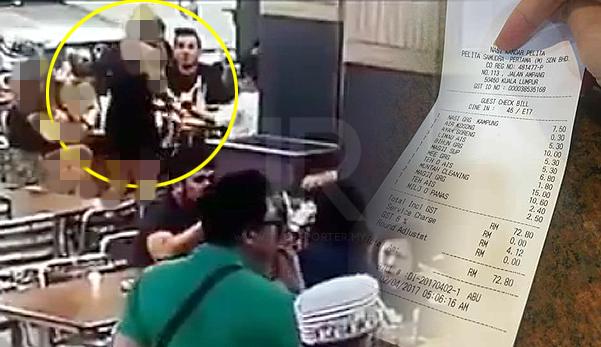 Cerita sebenar resit bayaran 'muntah cleaning' di Restoran Pelita