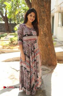Actress Sunaina Latest Stills in Floral Dress at Pelliki Mundu Prema Katha Trailer Launch  0036.JPG
