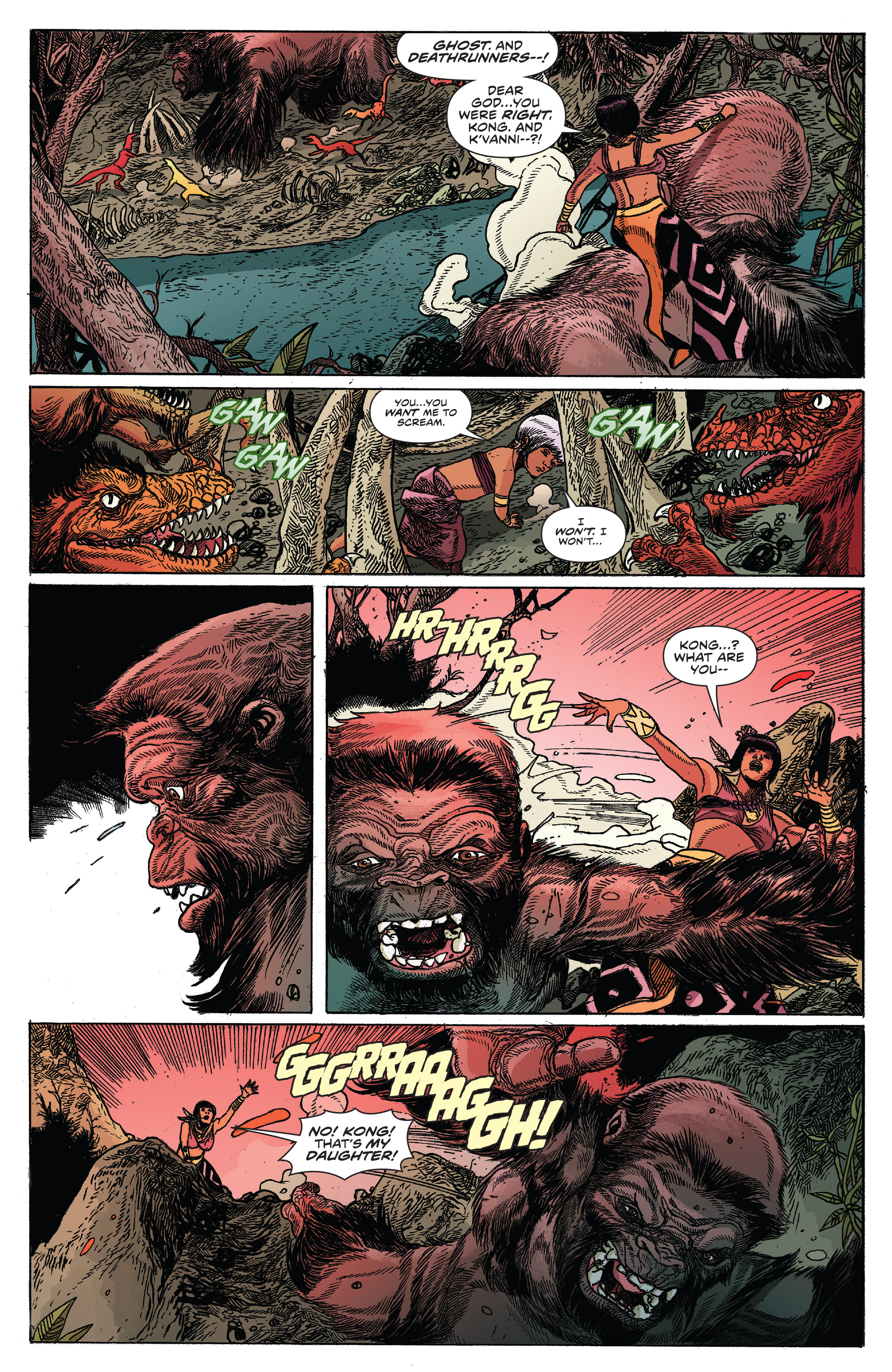 Read online Kong Of Skull Island comic -  Issue #12 - 11