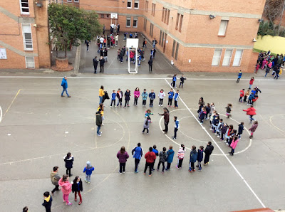 Patio Colegio María Auxiliadora - Salesianas Zaragoza