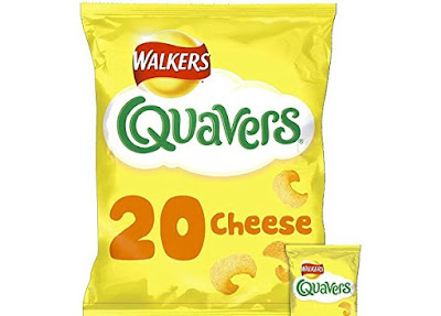 Crunchy Cheese Snacks - Walkers Quavers - Grocery