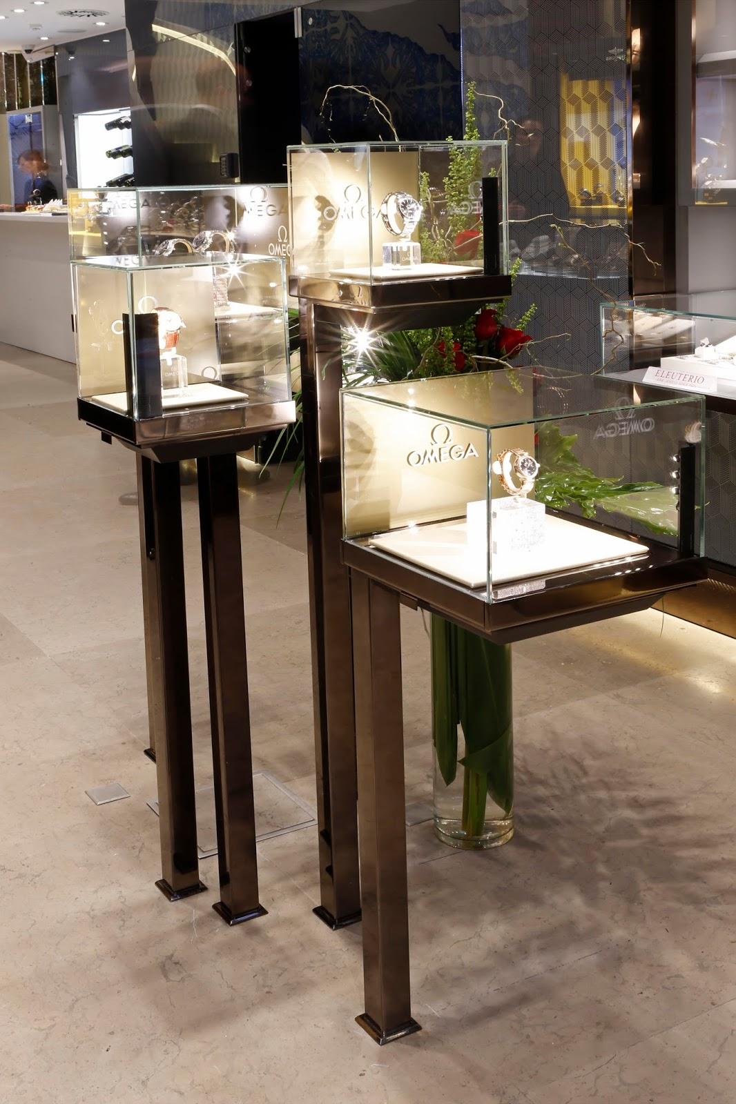 8d7809839a2 A sala mais reservada da Boutique dos Relógios Plus Art Avenida  transformou-se por duas semanas num espaço Omega exclusivo