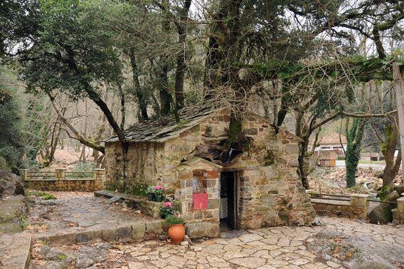 Bensozia St Theodora S Chapel Vastas Greece