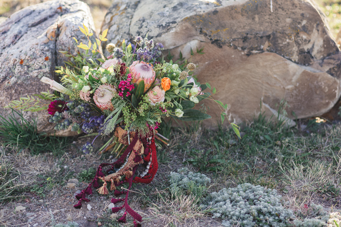 Wedding Florals / Photography: Kacie Q. Photography /  Styling + Flowers: Katalin Green /
