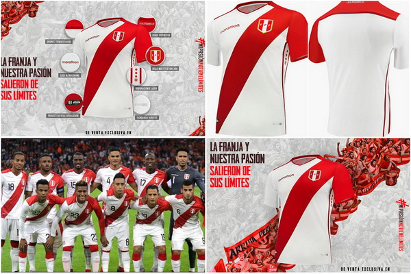 762be68dd31 Camiseta Marathon de Barcelona SC 2018 Source · replicas camisetas futbol  2019 camiseta Peru primera 2019 Marathon