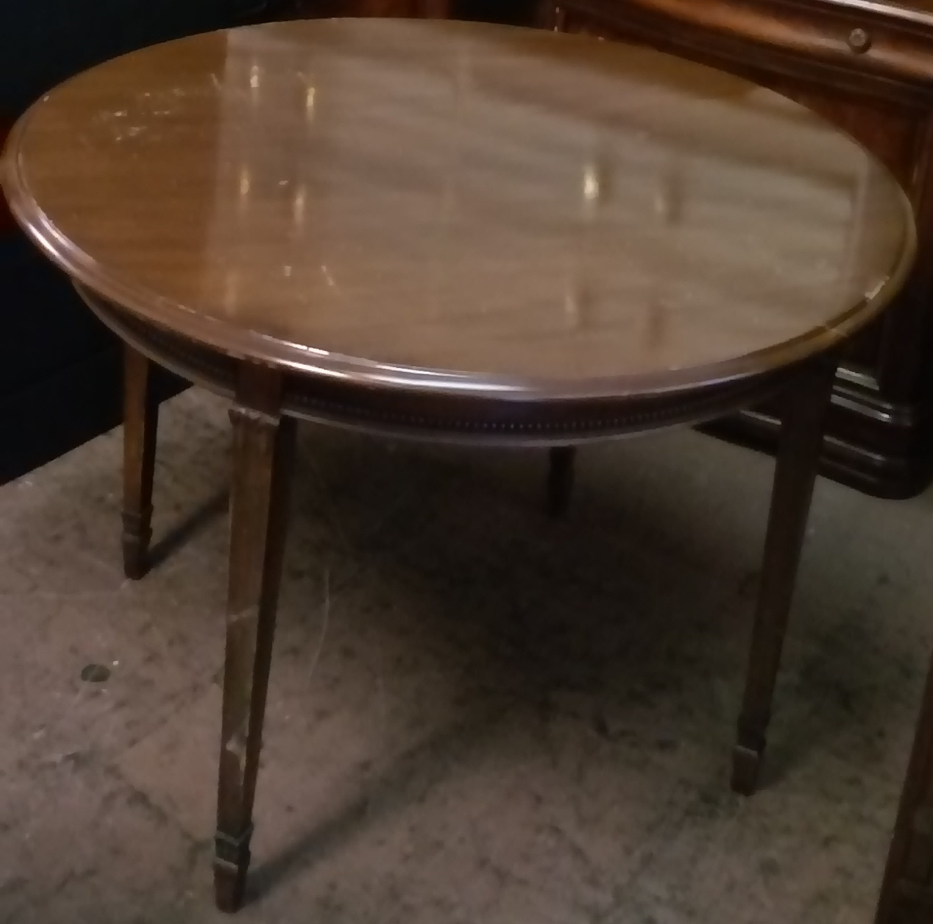 Uhuru furniture collectibles sold reduced 40 diameter dining table 30 - Inch diameter dining table ...