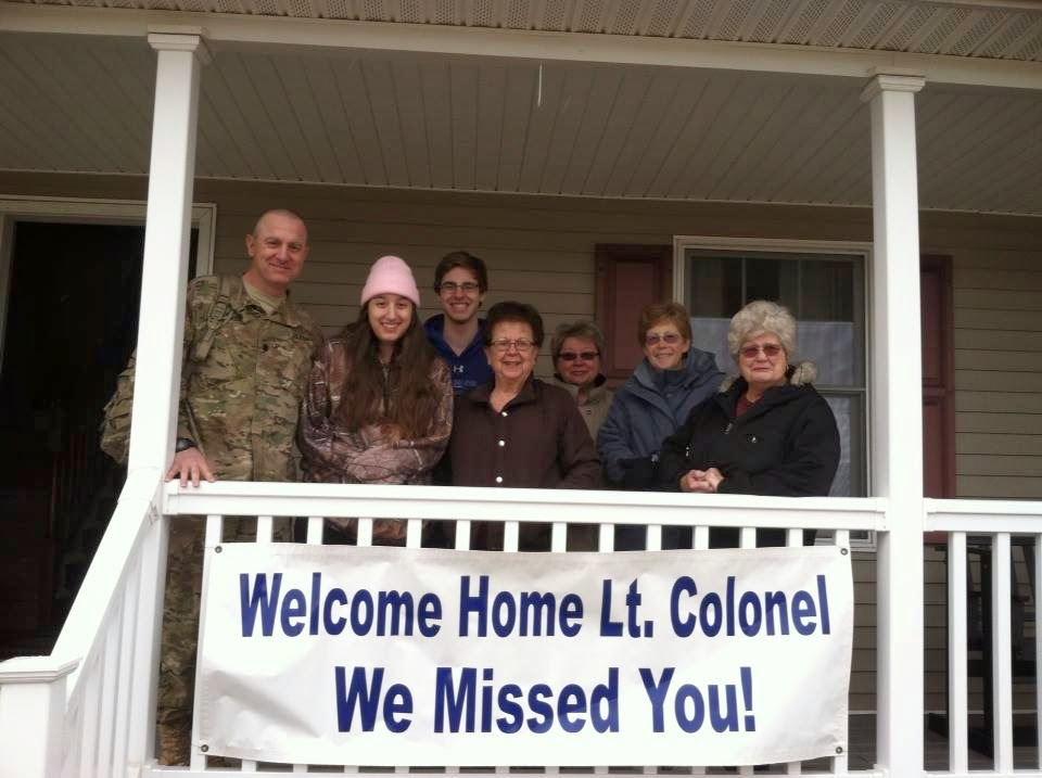 Welcome Home Colonel