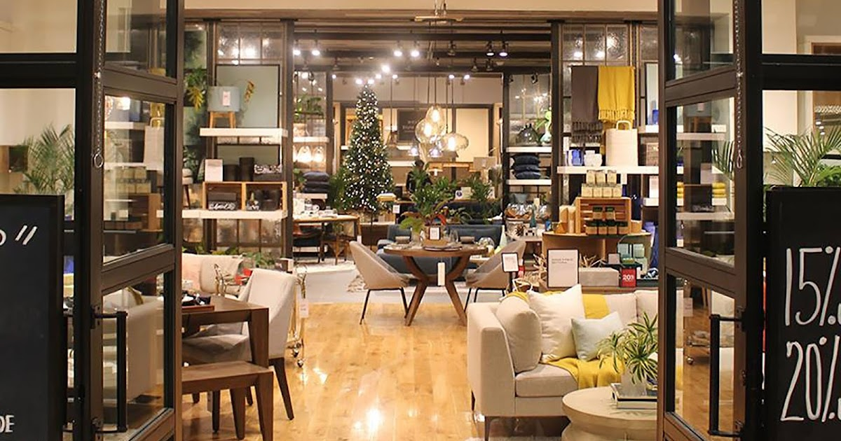 Manila Shopper Chic Furniture From Pottery Barn And West