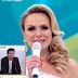 Celso Portiolli e Larissa Manoela se emocionam com discurso de Eliana