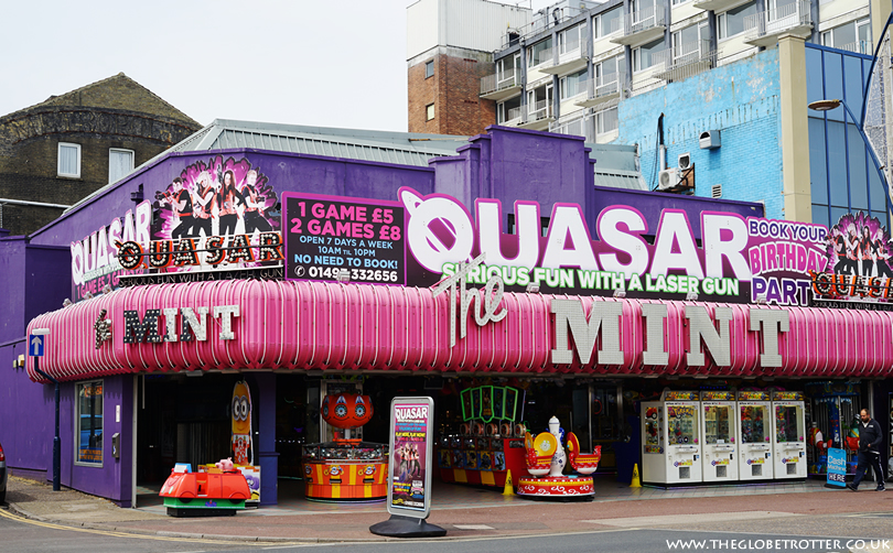 Quasar Laser Gun Arena in Great Yarmouth