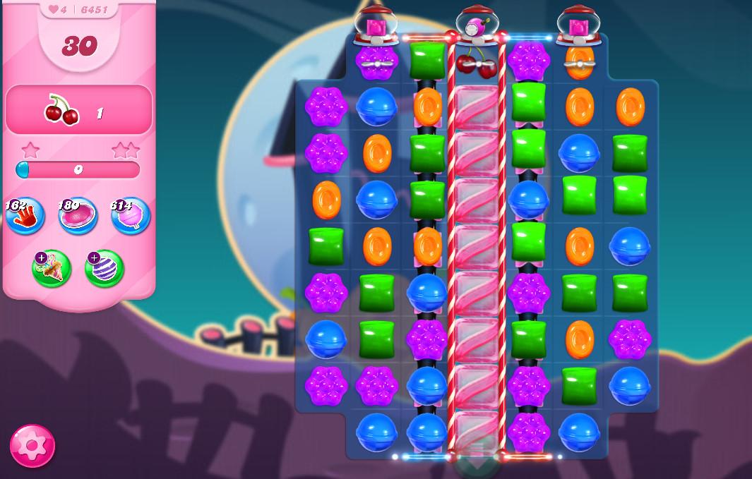 Candy Crush Saga level 6451