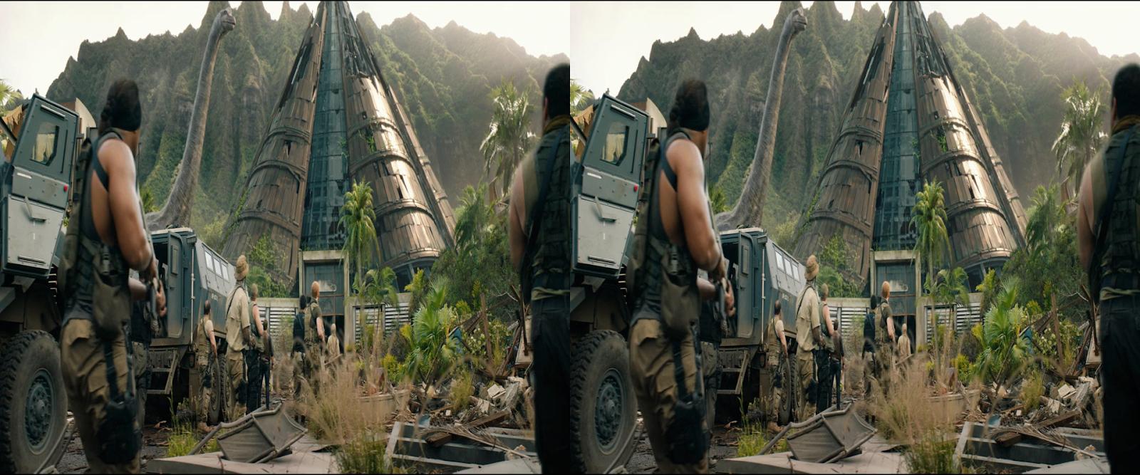 Jurassic World: El Reino Caído (2018) 3D SBS 1080p Latino-Ingles captura 2