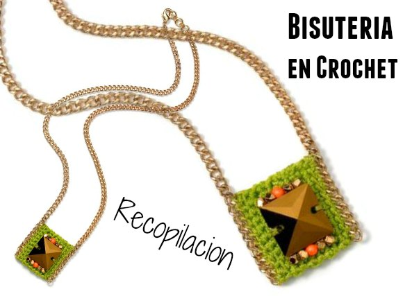 Bisuteria 260 piezas de crochet tutoriales e ideas