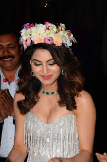 Bollywood Actress Model Urvashi Rautela Stills at Her 23rd Birthday Celebrations In Mumbai  0003.jpg