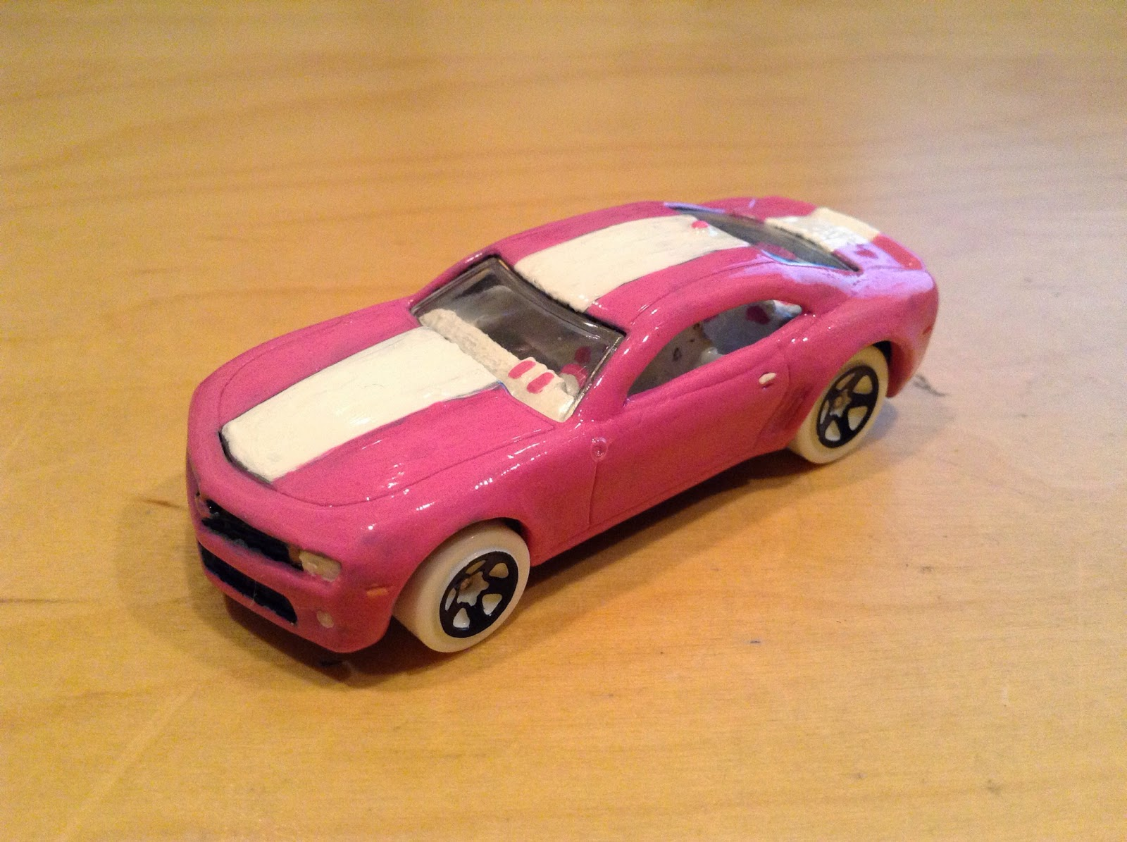And Swing Out The Wheels For Some White Ones Overall It Could Be Better Of Course But I Still Like My New Pink Camaro Was Fun To Customize