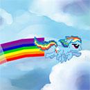 Rainbow Dash Tail