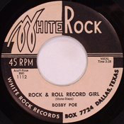 Rock and Roll Record Girl