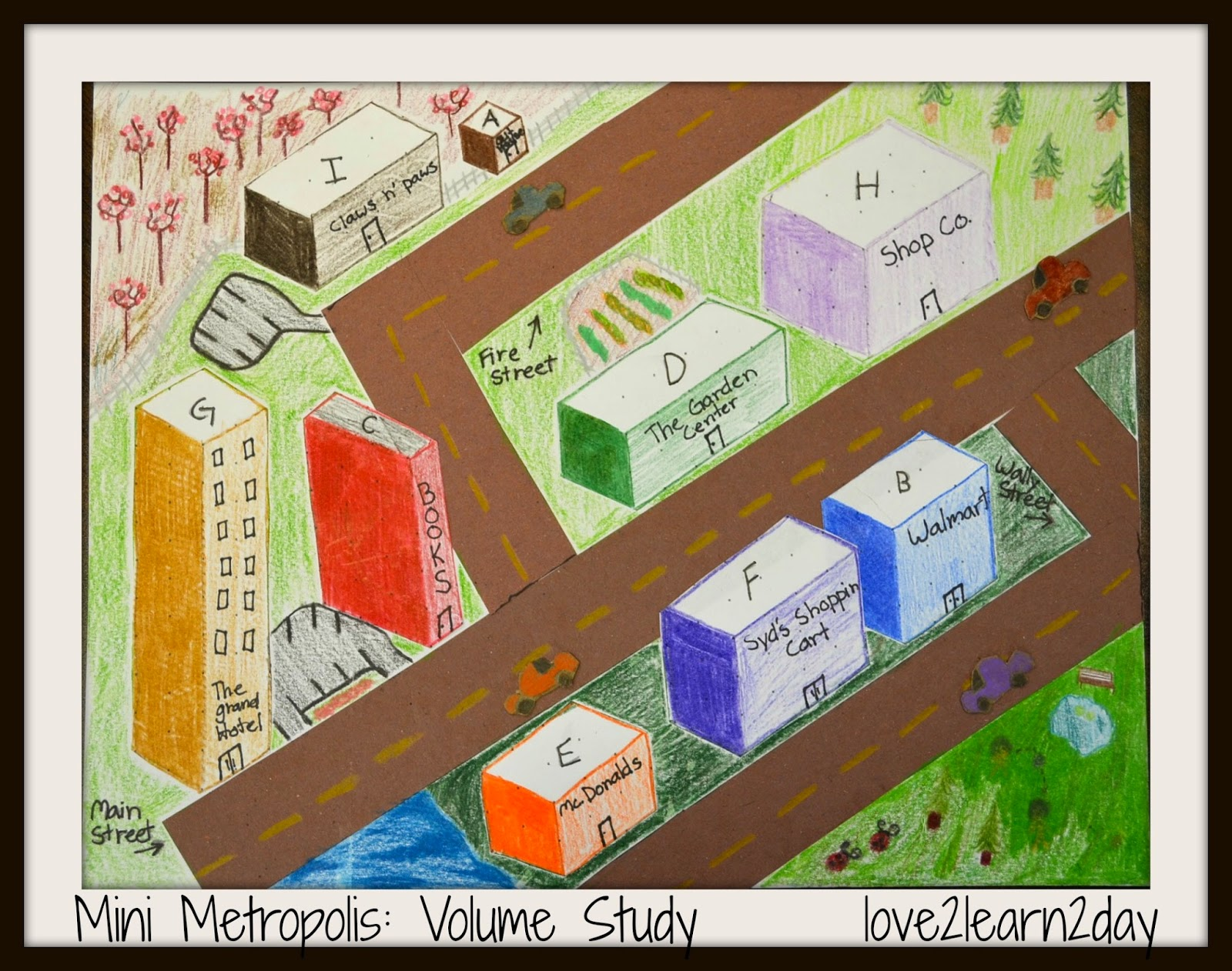 Love2learn2day Explore Volume With Mini Cube Cities