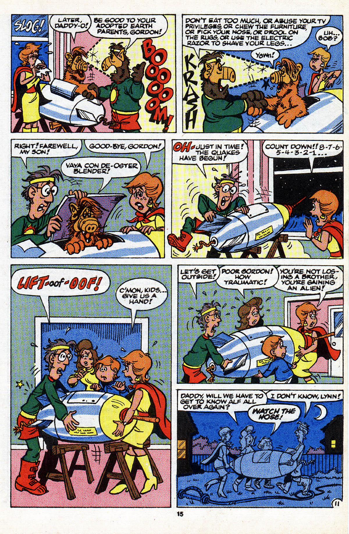 Read online ALF comic -  Issue #28 - 17