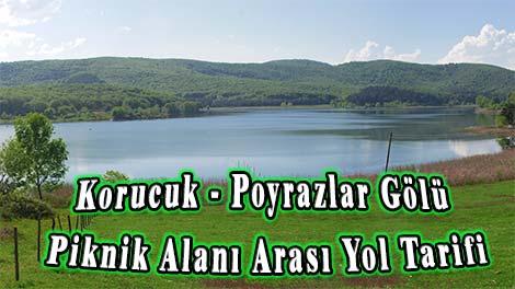 Korucuk - Poyrazlar Gölü Piknik Alanı Arası Yol Tarifi, Nasıl Gidilir?
