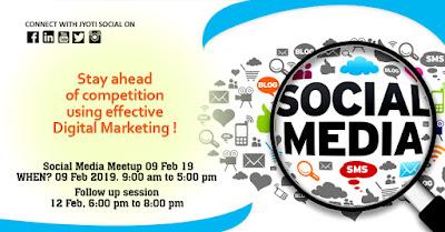 Social Media MEETUP Jyoti Social Jyotindra Zaveri