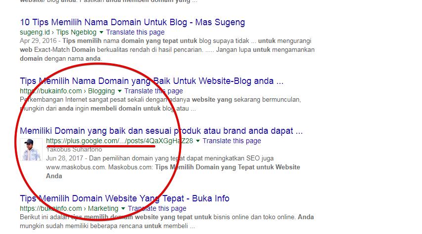 SEO Google Plus